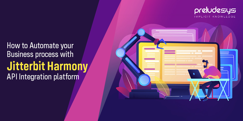 How to Automate your Business process with Jitterbit Harmony API Integration Platform